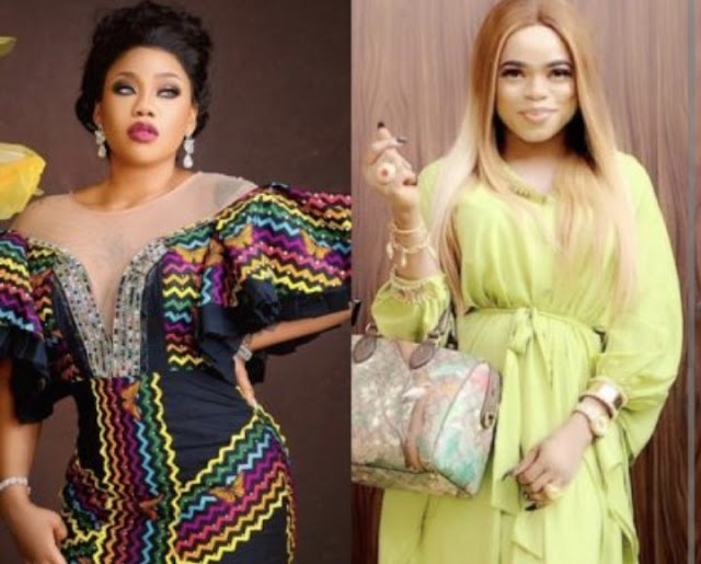 I Don't Associate with losers Toyin Lawani finally reacts to Bobrisky's insult at her birthday bash