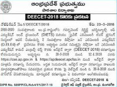 AP DEECET/ HOW TO ONLINE APPLY/  SYLLABUS