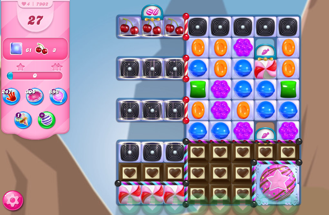 Candy Crush Saga level 7902
