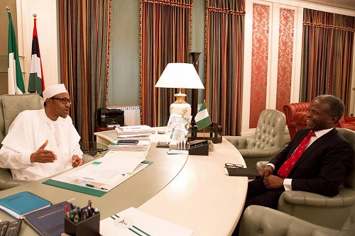 President Buhari Fully Back At Work After 13 Days Vacation In London, See Photos