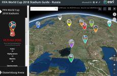 Mapa online que muestra la ubicación exacta de los estadios del Mundial de fútbol de Rusia 2018