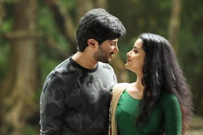 Malayalam actress Anupama with Dulquer romantic pics
