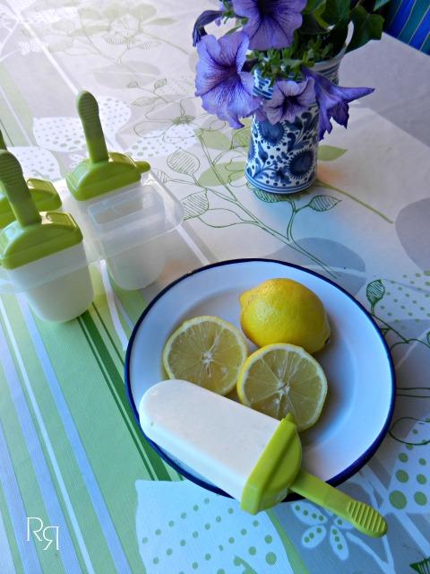 """""""Polos de limón y leche condensada"""""""