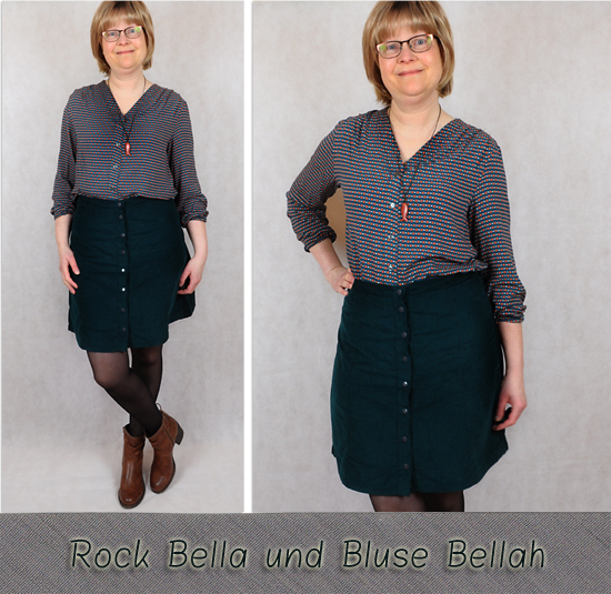 Rock Bella und Bluse Bellah