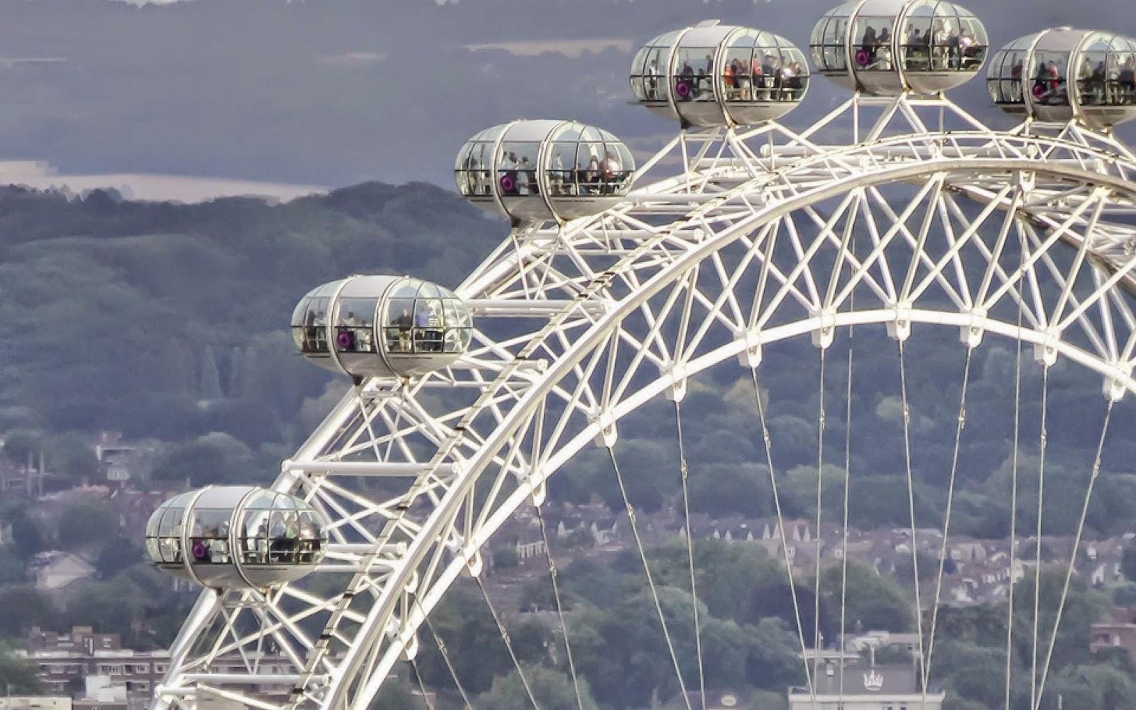 london eye objek wisata di untuk melihat kota dari atas