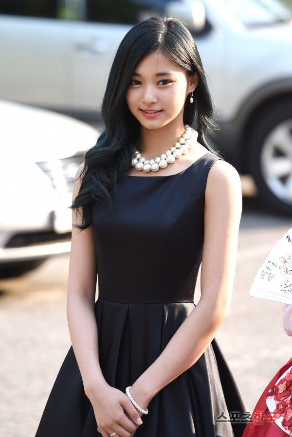 Elegant Tzuyu In Black Dress Daily K Pop News