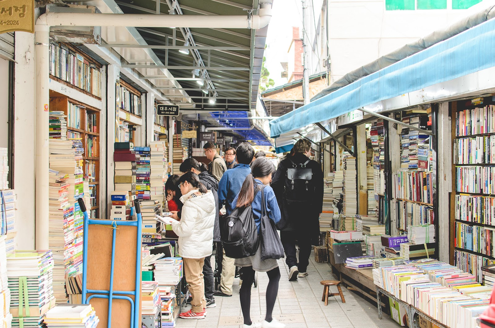 Korean Book Street Busan