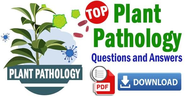 Plant Pathology Objective Multiple Choice Questions