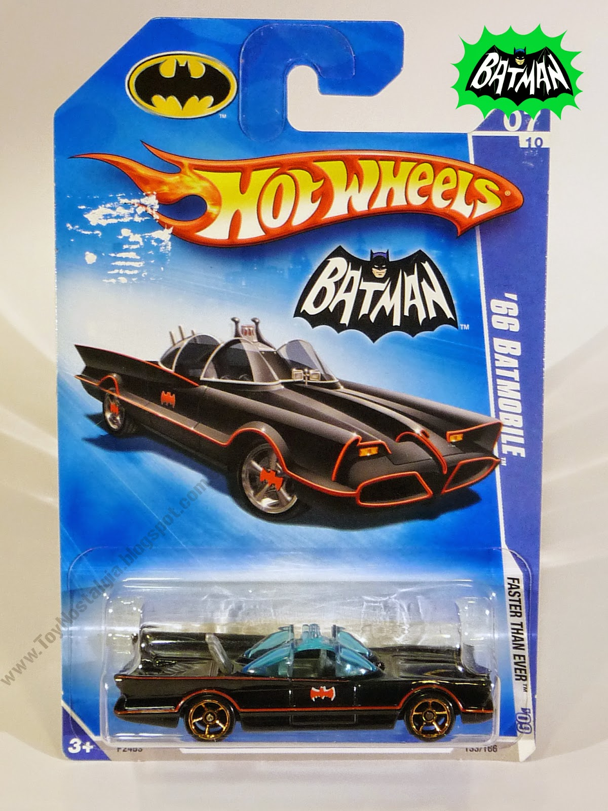 Hot Wheels Batman Batmobile 1966 TV Show 1:64-Blister (2009)