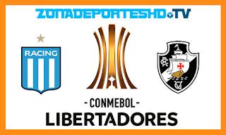 Ver Racing Club vs Vasco da Gama En vivo 19 de Abril 2018 Copa Libertadores