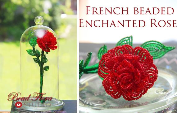 French Beaded Flowers Book