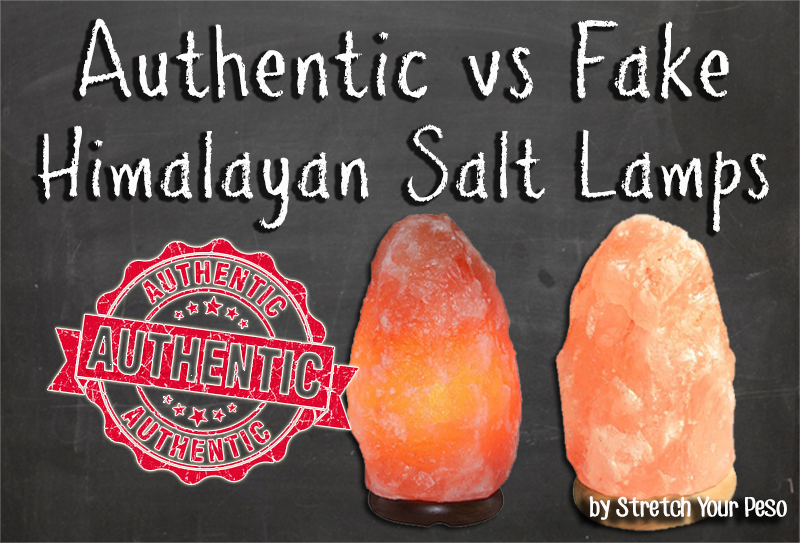 Authentic Himalayan Salt Lamp