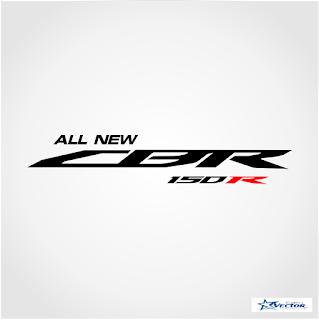 All New CBR 150R Logo Vector cdr
