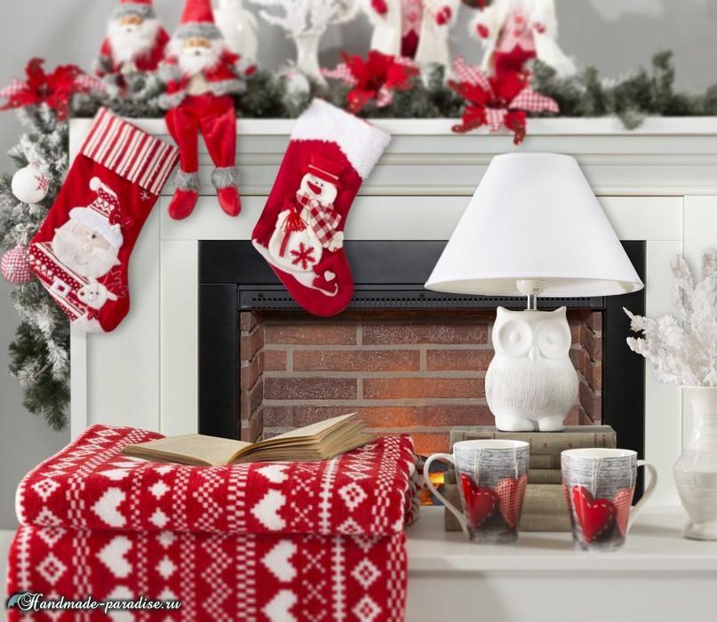 Красивый дизайн интерьера к Рождеству (1)