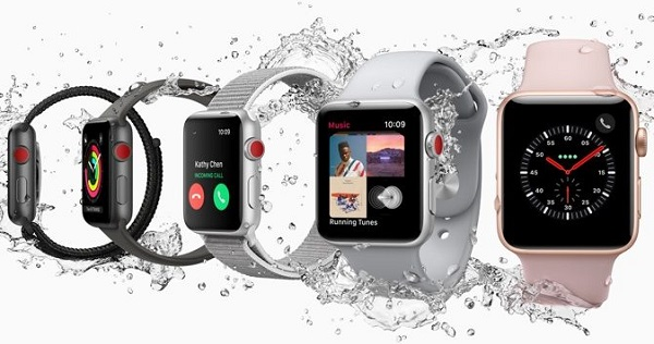 Apple debuts Watch Series 3 (GPS) and Watch Series 3 (GPS + Cellular)