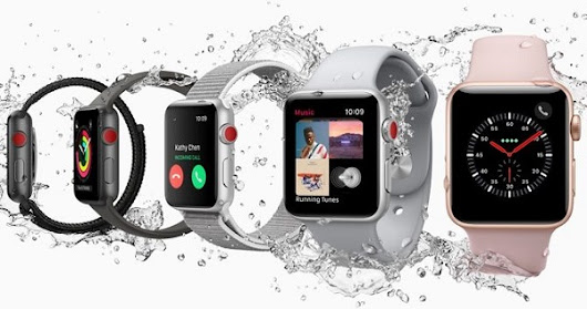 Apple debuts Watch Series 3 (GPS) and Watch Series 3 (GPS + Cellular) - Price, Availability