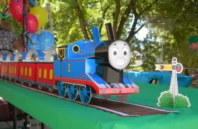 Thomas the Train Birthday