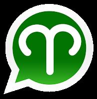 Iconos de los signos zodiacales para promocionar grupos de Whatsapp de aries