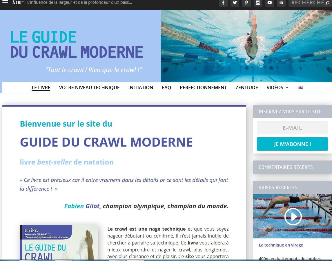 le plaisir de nager le guide du crawl moderne