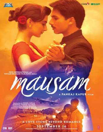 Poster Of Mausam 2011 Hindi 700MB HDRip 720p ESubs HEVC Watch Online Free Download downloadhub.in