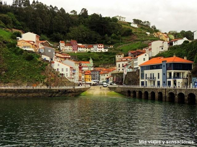La villa marinera de Cudillero, Asturias