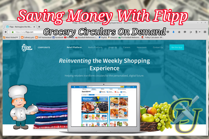 Culinary yoU: Money Saving Apps (Flipp)