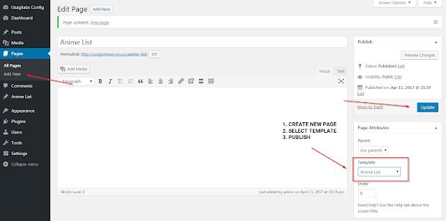 Usagilabs, Usagilabs Wordpress Theme