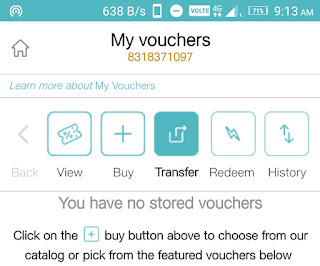 How to Transfer Jio Vouchers