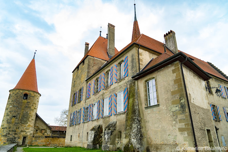 Castle Avenches Switzerland