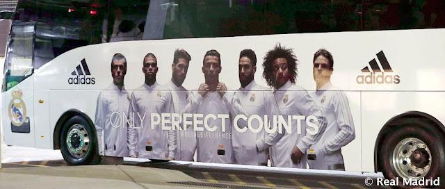 """¿""""Chiva"""" el autobús del Real Madrid que Sergio Ramos se queda?"""