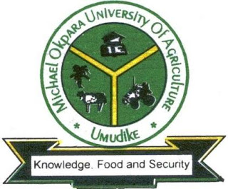 Michael Okpara University of Agriculture Umudike has released the 2017/2018 Direct Entry screening results for 2017/2018