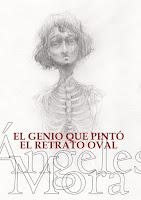 """Portada de """"El genio que pintó el retrato oval"""", de Ángeles Mora"""