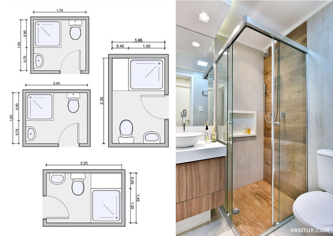 Ukuran Minimal Toilet Dan Kamar Mandi