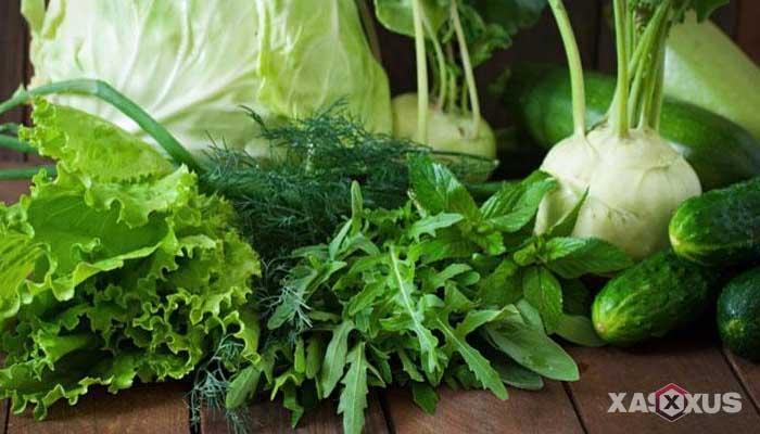 Cara menghilangkan bruntusan di wajah dengan sayuran
