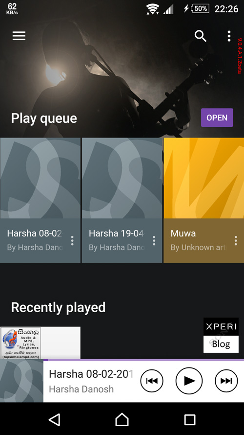 Music 9.0.4.A.1.2beta