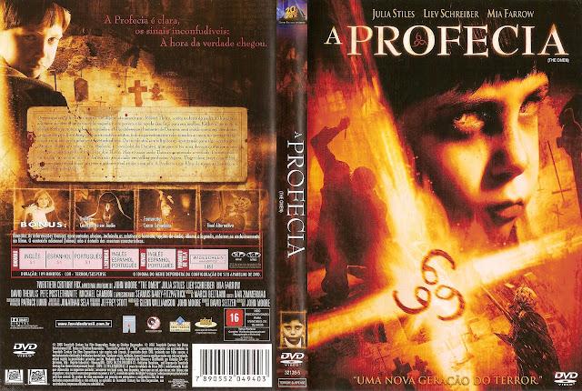 Capa DVD A Profecia