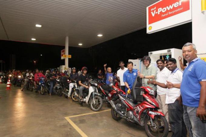 Petrol Percuma Untuk Penunggang Motorsikal di Wilayah Persekutuan