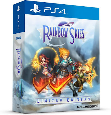 Rainbow Skies Game Cover Ps4 Limited Edition