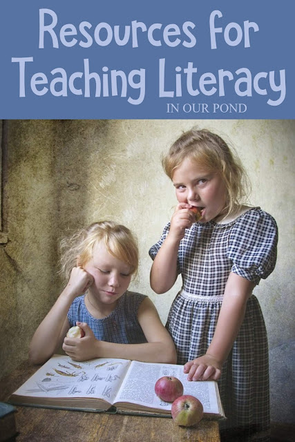 Resources for Teaching Literacy to Kids // In Our Pond // Reading // Writing // Grammar // Literature // Spelling