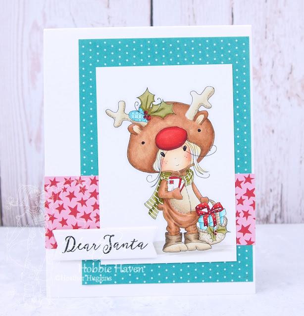 Heather's Hobbie Haven - Rudolph Onesie Card