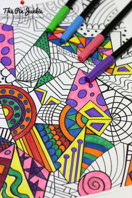 Coloring Pages for Grown-Ups