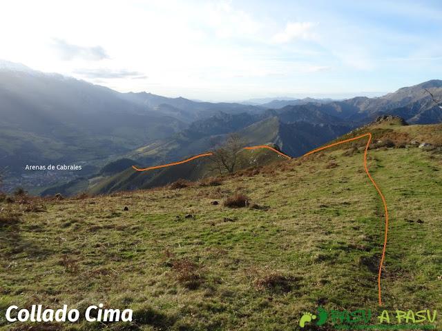 Sierra de Juan Robre: Collado Cima