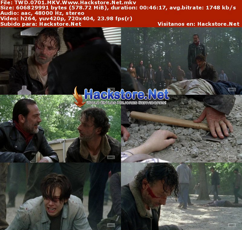 "Capturas de The Walking Dead 7×01 ""The Day Will Come When You Won't Be"""