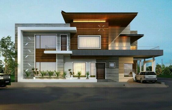 Outlook of a Modern House