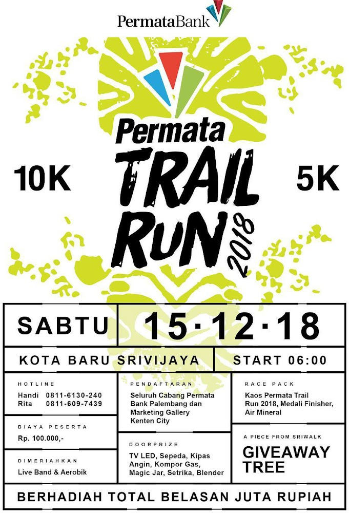 Permata Trail Run • 2018