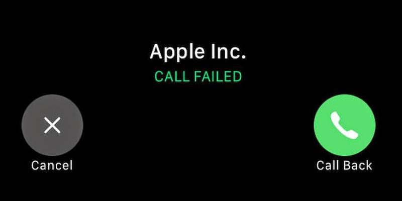 Fix Call Failed iPhone