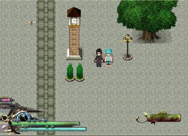 CHARACTER HATSUNE MIKU SHORT HAIR - RPG MAKER VX ACE