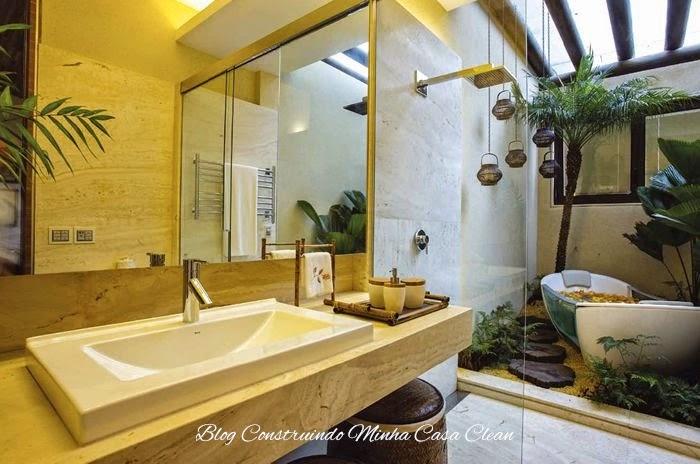 Construindo Minha Casa Clean Banheiros E Lavabos Com