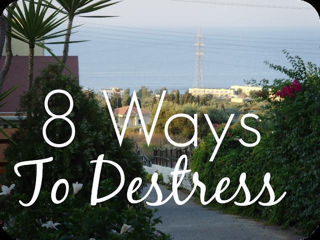 8 ways to relieve stress
