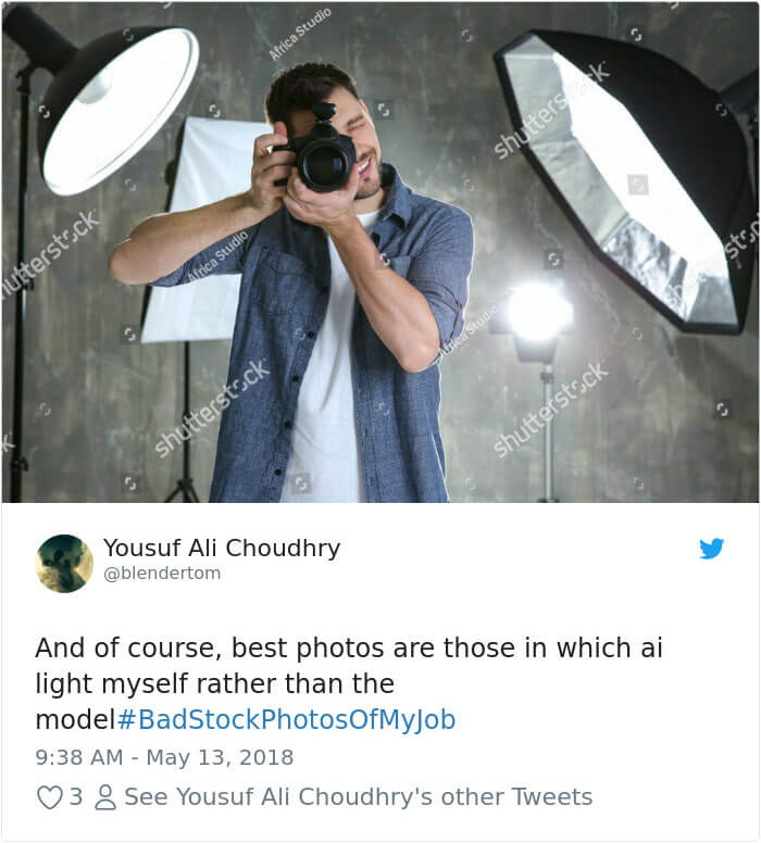 32 People Collected Hilarious Stock Photos While Doing Their Jobs And Are Now Sharing Them
